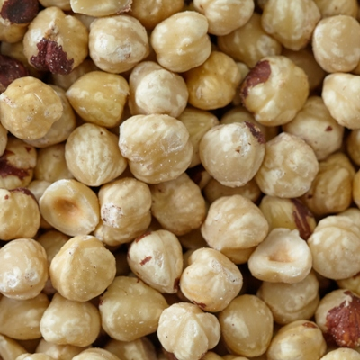 Raw Whole Blanched Filberts (Hazelnuts)