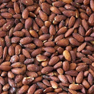 Roasted Natural Whole Almonds (Salted)