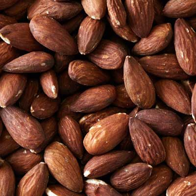 Roasted Natural Whole Almonds (Unsalted)