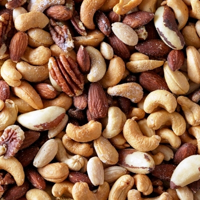 Deluxe Mixed Nuts (Salted) (No Peanuts)