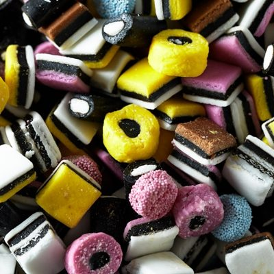 English Licorice Allsorts