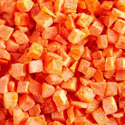 Papaya Dried Dice