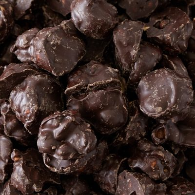 Dark Chocolate Caramel Nut Clusters