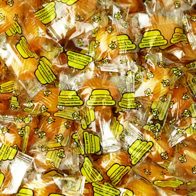 Honey Bee Filled Honey Candy