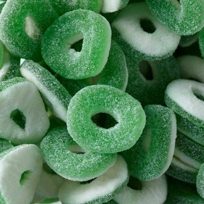 Sour Apple Rings
